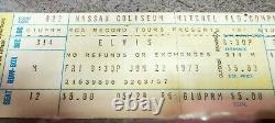 ELVIS PRESLEY Original 1973 CONCERT FULL TICKET STUB 6/22 Nassau Coliseum