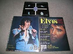 ELVIS PRESLEY Original April 12 1972 Concert TICKET STUB Indianapolis plus more