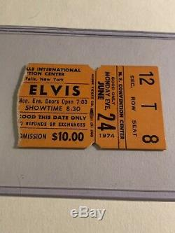 Elvis Concert Ticket Stub 1974 RARE