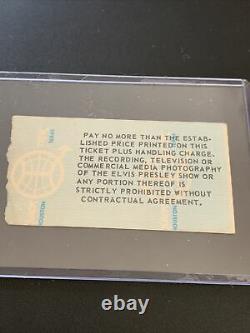 Elvis Concert Ticket Stub April 29, 1977/ Duluth MN / RARE