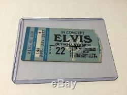 Elvis Concert Ticket Stub Detroit Michigan April 22 1977