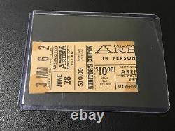 Elvis Concert Ticket Stub June 28, 1974 / Milwaukee