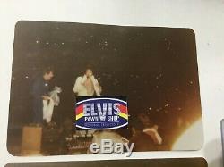 Elvis Concert Ticket Stub Kansas City June 18, 1977 With Original Candid Photos