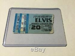 Elvis Concert Ticket Stub May 20, 1977 Knoxville Tn