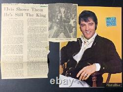 Elvis Concert Ticket Stub / November 10, 1970 / Vegas International Review