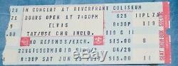 Elvis Concert Worn Scarf And Ticket Stub Estate Sale Find