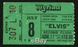 Elvis Presley-1975 RARE Original Concert Ticket Stub (Oklahoma City-Myriad)