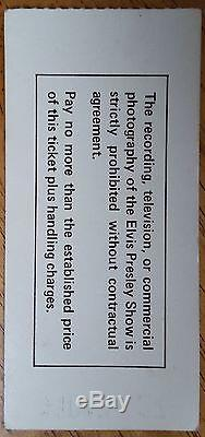 Elvis Presley-1975 RARE Original Concert Ticket Stub (Pontiac Silverdome)