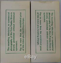 Elvis Presley-1975 RARE Original Concert Ticket Stub's (2) (Pontiac Silverdome)