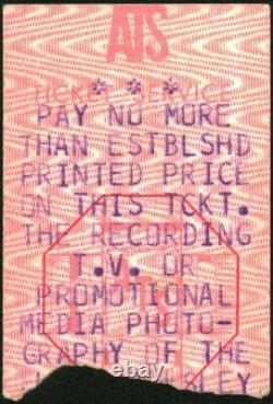 Elvis Presley-1977 RARE Concert Ticket Stub (Johnson City-Freedom Hall)