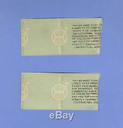 Elvis Presley 2 Concert Tickets Stubs Dayton Ohio October 26 1976 SEAT 6&7 BOTH