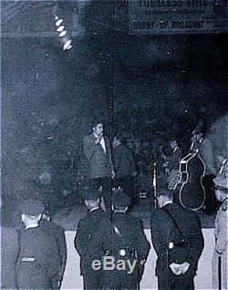 Elvis Presley Concert Ticket Stub, Louisville, 1956 with photo
