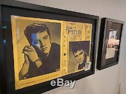 Elvis Presley Signed 1956 Mr Rhythm Souvenir Tour Program & Concert Ticket Stub