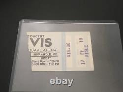 Elvis Ticket Stub Last Concert June 26, 1977 Indianapolis Indiana