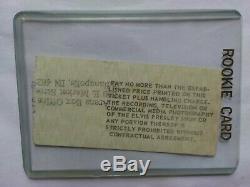 Elvis presley last concert Ticket Stub June 26 1977 Market Square Arena