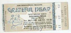 Grateful Dead 7/9/95 Chicago Mail Order Ticket Stub! Jerry Garcia LAST CONCERT