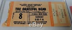 Grateful Dead Concert Ticket-Stubs-Boston-Cornell-Buffalo-5/7/77-5/8/77-5/9/77++