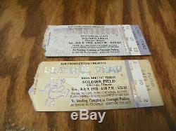 Grateful Dead Soldier Field Chicago IL 1995 Concert Mail order Ticket Stub Lot