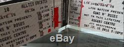 Guns n Roses Toronto Rogers Center July 16 2 tickets (REAL STUBS) SHIPS FREE