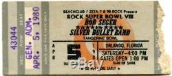 Huge Lot 40 Concert Ticket Stubs 70s & 80s Lynyrd Skynyrd 2 Nights Before Crash
