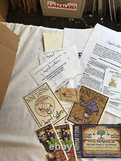 Huge Lot Primus Les Claypool Concert Ticket Stub Post Cards Stickers Winery