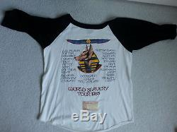 Iron Maiden Powerslave Tour Concert T-Shirt XL With Ticket Stub No Flaws