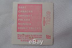 JIMI HENDRIX 1969 Original CONCERT Ticket STUB Los Angeles Forum