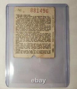 July 20 1973 Original Led Zeppelin Concert Ticket Stub Boston Garden Memorabilia