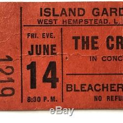 June 1968the Creamconcert Ticket Stubwheels Of Fire Tour Island Garden LI Ny