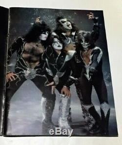 KISS 1977 Japan Concert Tour Program Book with Ticket Stub