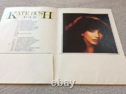 Kate Bush Tour 1979 Rare Concert Programme + Ticket Stub