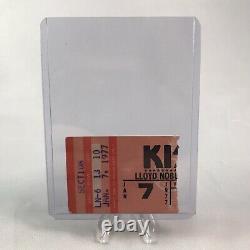 Kiss Lloyd Noble Center Norkman OK Concert Ticket Stub Vintage January 7 1977