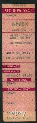 LED ZEPPELIN-Lynyrd Skynyrd 1973-1979 Concert Ticket Stubs Lot of 13 (LAMINATED)