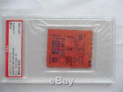 LED ZEPPELIN Original 1975 CONCERT Ticket STUB Madison Square Garden