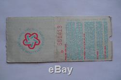 LED ZEPPELIN Original 1977 CONCERT TICKET STUB Chicago Stadium
