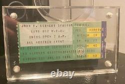 LIVE AID CONCERT Authentic Ticket stub 1985 JFK Stadium, Philadelphia