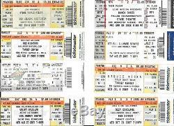 Lot of 31 Concert Ticket Stubs Ozzy Beyonce Prince Aerosmith Heaven & Hell NIN