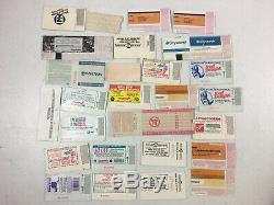 Lot of Concert Ticket Stubs ROLLING STONES PINK FLOYD BOB DYLAN METALLICA +MORE