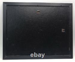 Lrg. Group Of 70s To 90s ROCK CONCERT TICKET STUBS & Others Framed-See Desc