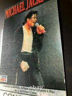 MICHAEL JACKSON / SNAP! Concert Ticket Stub October 1, 1992 BUCHAREST ROMANIA