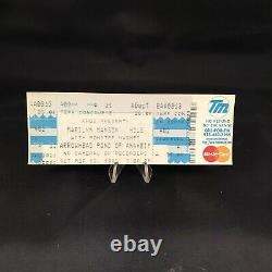 Marilyn Manson Hole Monster Magnet Arrowhead Pond Concert Ticket Stub Vtg 1999