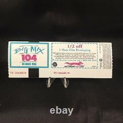 Metallica Blockbuster Pavilion Devore CA Concert Ticket Stub Vtg July 24 1994