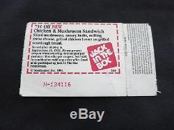 Nirvana Concert Ticket 1991 Coa Rare! Pearl Jam Chili Peppers Stub Kurt Cobain
