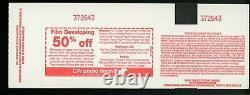 NIRVANA Full Concert Ticket Nov 13, 1993 BENDER ARENA WASHINGTON DC cobain stub