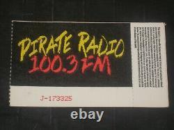 Nirvana & Hole 1991 Concert Ticket Stubthe Palacehollywood10/25/91 Rare