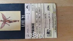 Nirvana Very Rare Last Concert Ticket Stub 1994 Kurt Cobain