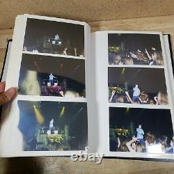 Nsync Concert Photo Album Lot Ticket Stub AMD Music Festival 1999