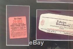 ORIGINAL 1973 ELVIS PRESLEY CONCERT TICKET STUB OKLA. CITY With ARTIICLE LOT
