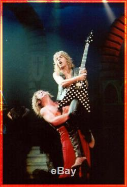 OZZY OSBOURNE Concert Ticket Stub 2 1/2 weeks before RANDY RHODES Passing 1982