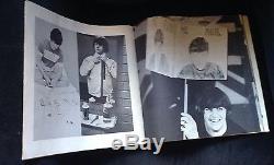 Original 1966 Beatles Ticket Stub Program and Button Concert Lot